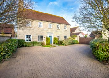 Thumbnail 5 bed detached house for sale in Hampton Close, Fenstanton, Huntingdon