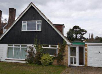 Thumbnail 3 bed detached bungalow to rent in Ebbisham Drive, Norwich, Norfolk