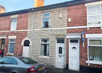 Thumbnail 2 bedroom terraced house for sale in Cecil Street, Derby