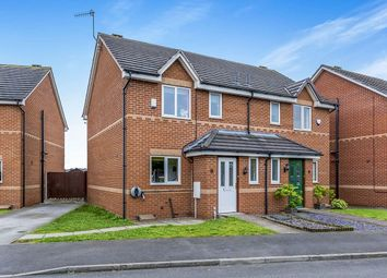 Thumbnail 3 bed semi-detached house for sale in Festival Close, Cobridge, Stoke-On-Trent