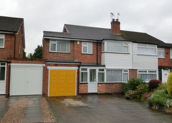 Thumbnail 4 bed semi-detached house for sale in Blackford Road, Shirley, Solihull
