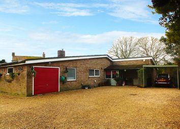 Thumbnail 2 bedroom detached bungalow for sale in Jarmans Lane, West Row, Bury St. Edmunds