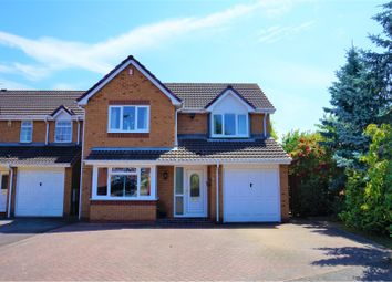 Thumbnail 4 bed detached house for sale in Stewart Close, Branston, Burton-On-Trent