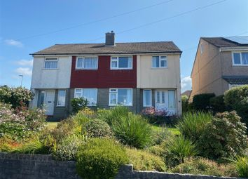 Thumbnail 3 bed semi-detached house for sale in Boringdon Hill, Plympton, Plymouth