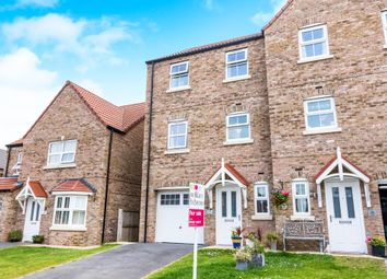 Thumbnail 4 bed town house for sale in Saunders Close, Caistor, Market Rasen