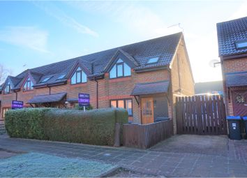 Thumbnail 3 bed end terrace house for sale in The Fieldings, Woking