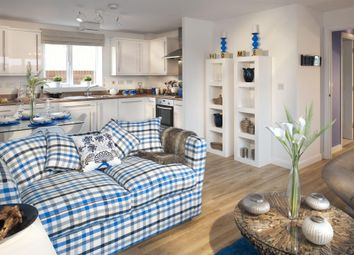 "Thumbnail 2 bed flat for sale in ""Layton"" at Kergilliack Road, Falmouth"