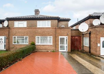 Thumbnail 3 bed semi-detached house for sale in Twyford Abbey Road, London