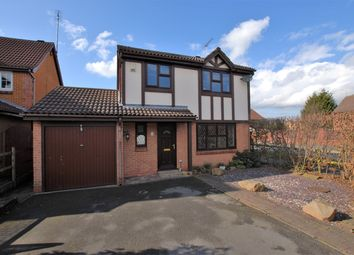 Thumbnail 4 bed detached house for sale in Heron Drive, Uttoxeter