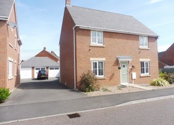 Thumbnail 4 bed detached house for sale in Ironwood Avenue, Desborough, Kettering