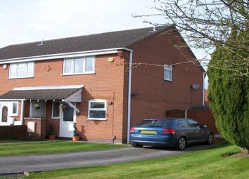 Thumbnail 2 bed semi-detached house to rent in Hammond Grove, Kirkby-In-Ashfield, Nottingham