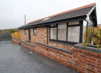 Thumbnail 1 bed detached bungalow to rent in Woodend Stables, Marsh Lane, Bebington