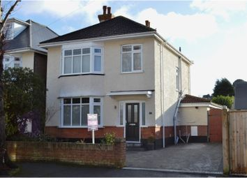 Thumbnail 3 bed detached house for sale in Rowena Road, Bournemouth