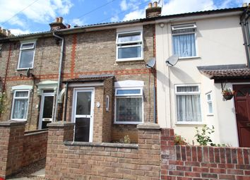 Thumbnail 2 bedroom terraced house for sale in Waveney Road, Ipswich