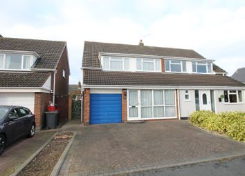 Thumbnail 3 bed semi-detached house for sale in Pooley View, Polesworth, Tamworth