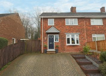 Thumbnail 3 bed semi-detached house for sale in Mosswood Crescent, Bestwood Park, Nottingham