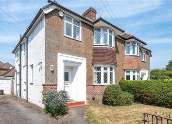 Pinn Way, Ruislip, Middlesex HA4. 3 bed semi-detached house
