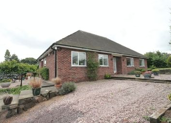 Thumbnail 3 bed detached bungalow for sale in Newcastle Road, Market Drayton