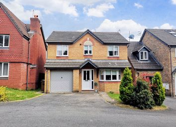 Thumbnail 4 bed detached house for sale in Dol Y Pandy, Bedwas, Caerphilly
