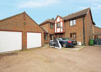 Thumbnail 4 bed detached house for sale in Carlton Tye, Horley, Surrey