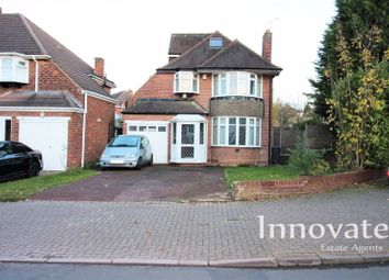 Thumbnail 5 bed detached house for sale in Grestone Avenue, Handsworth Wood, Birmingham