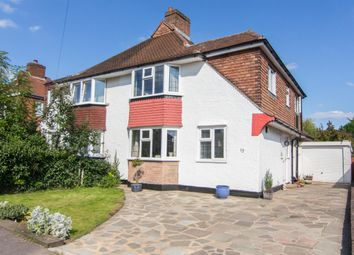 Thumbnail 4 bedroom semi-detached house for sale in Knightwood Crescent, New Malden