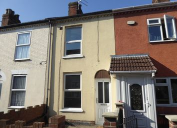 Thumbnail 3 bedroom terraced house to rent in Elsie Road, Great Yarmouth
