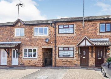 Thumbnail 2 bed terraced house to rent in Cedar Road, Castle Gresley, Swadlincote
