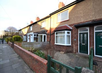 Thumbnail 2 bed terraced house to rent in Regent Road North, Gosforth, Newcastle Upon Tyne