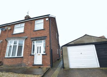 Thumbnail 3 bed semi-detached house for sale in Churchfield Road, Ashby, Scunthorpe