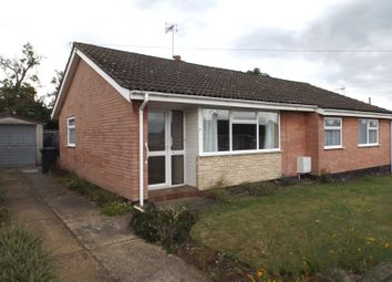 Thumbnail 3 bedroom detached bungalow for sale in Hillcrest Road, Beccles