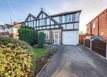 Thumbnail 4 bed semi-detached house for sale in Church Road, Burton Joyce, Nottingham