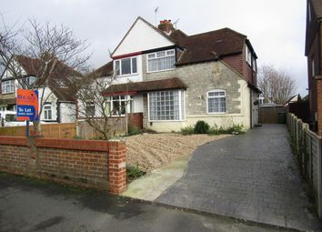 Thumbnail 3 bed semi-detached house to rent in Station Road, Drayton, Portsmouth