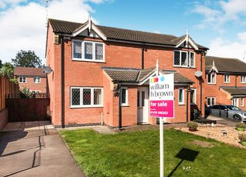Thumbnail 3 bedroom semi-detached house for sale in Cromer Close, Grantham