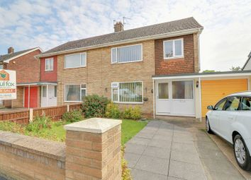 Thumbnail 3 bed semi-detached house for sale in Cambridge Avenue, Bottesford, Scunthorpe