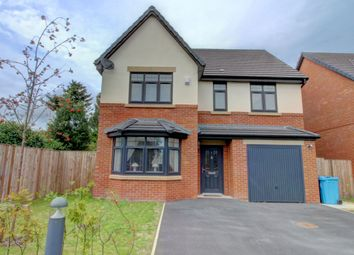 Thumbnail 4 bed detached house for sale in Octavia Court, Byron Close, Huyton, Liverpool