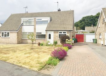 Thumbnail 3 bed semi-detached bungalow for sale in The Paddock, York