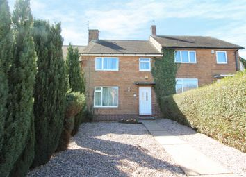 Thumbnail 3 bed town house for sale in Ellastone Avenue, Bestwood, Nottingham