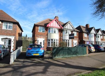 Thumbnail 4 bed semi-detached house for sale in Wyngate Drive, Western Park, Leicester