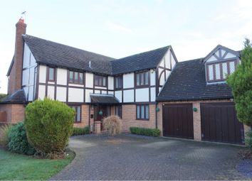 Thumbnail 5 bed detached house for sale in Knighton Close, Leicester