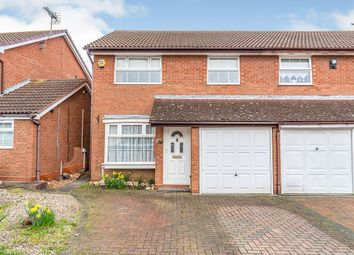 Thumbnail 3 bed semi-detached house for sale in Puttney Drive, Kemsley, Sittingbourne