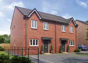 "Thumbnail 3 bedroom end terrace house for sale in ""The Windsor"" at Hartburn, Morpeth"