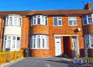 Thumbnail 3 bed terraced house for sale in Green Lane Road, Evington, Leicester