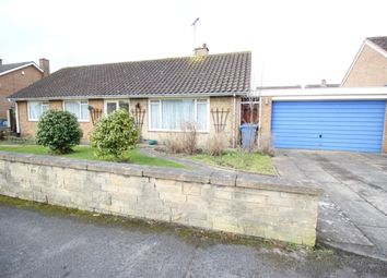 Thumbnail 3 bed detached bungalow for sale in Almond Grove, Worksop