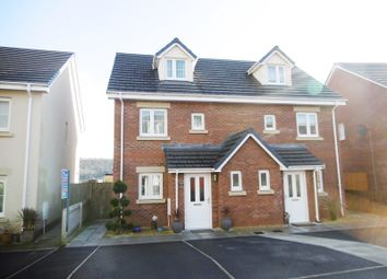 Thumbnail 3 bed semi-detached house for sale in Maes Yr Ysgol, Pontardawe, Swansea.