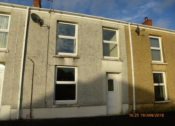 Thumbnail 3 bed terraced house to rent in New Road, Upper Brynamman, Ammanford, Carmarthenshire.