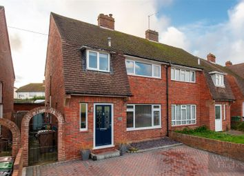 Thumbnail 3 bed semi-detached house for sale in Lewis Road, St. Leonards-On-Sea