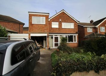 Thumbnail 4 bed detached house for sale in Abbey Road, Enderby, Leicester, Leicestershire