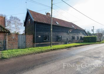 Thumbnail 4 bed barn conversion for sale in Diss Road, Tibenham, Norwich