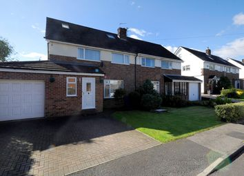 Thumbnail 4 bed semi-detached house for sale in Sephton Avenue, Culcheth, Warrington